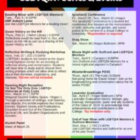 LGBTQIA+ Series & Events